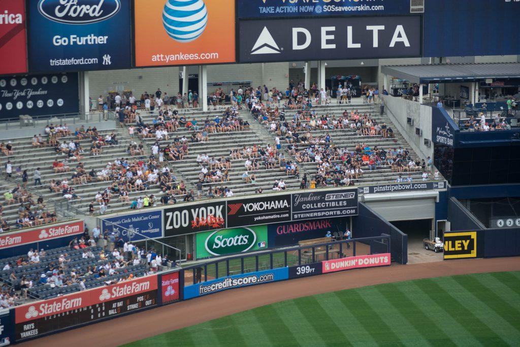 Yankee Stadium Bleachers