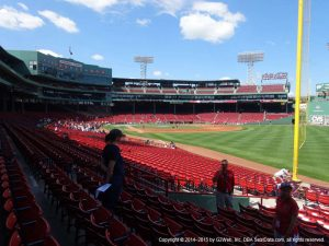 Pesky Pole seats at Fenway Park
