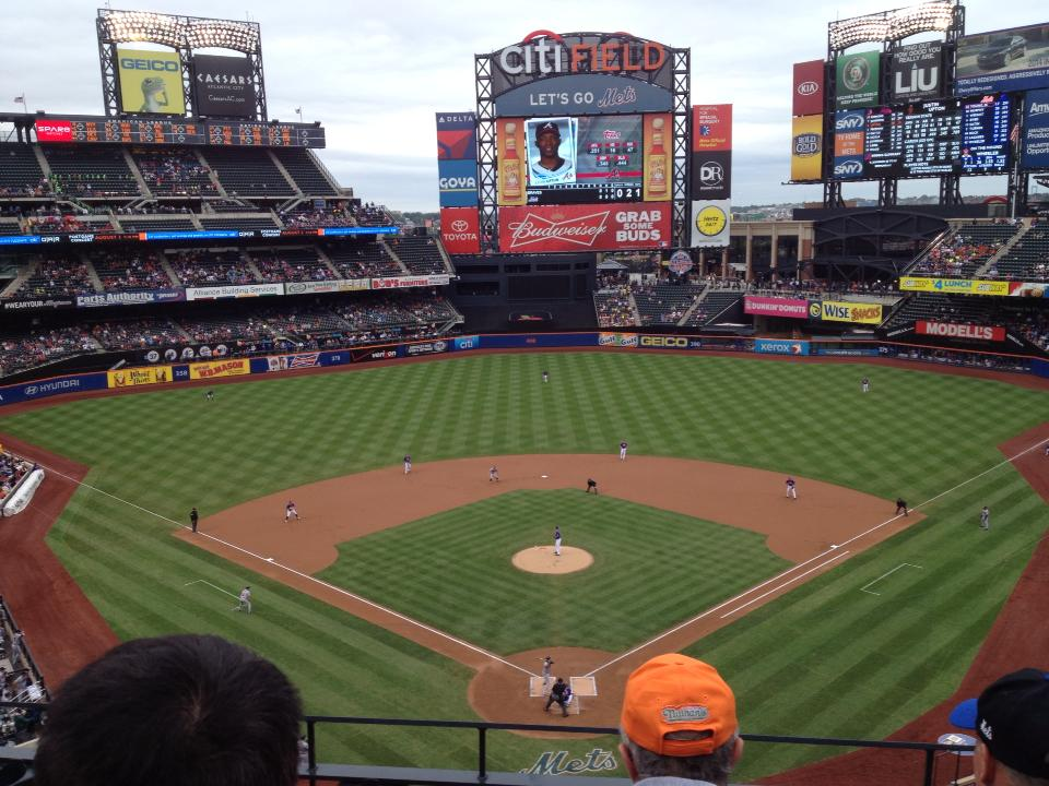 Seats with Best View for New York Mets
