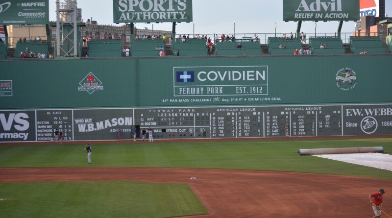 Best View at Fenway Park
