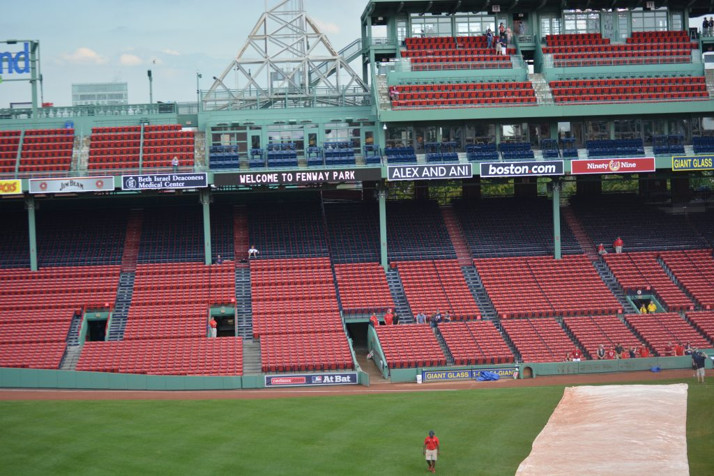 Best seats at Fenway Park are those that do not have Poles and walkways obstructing views