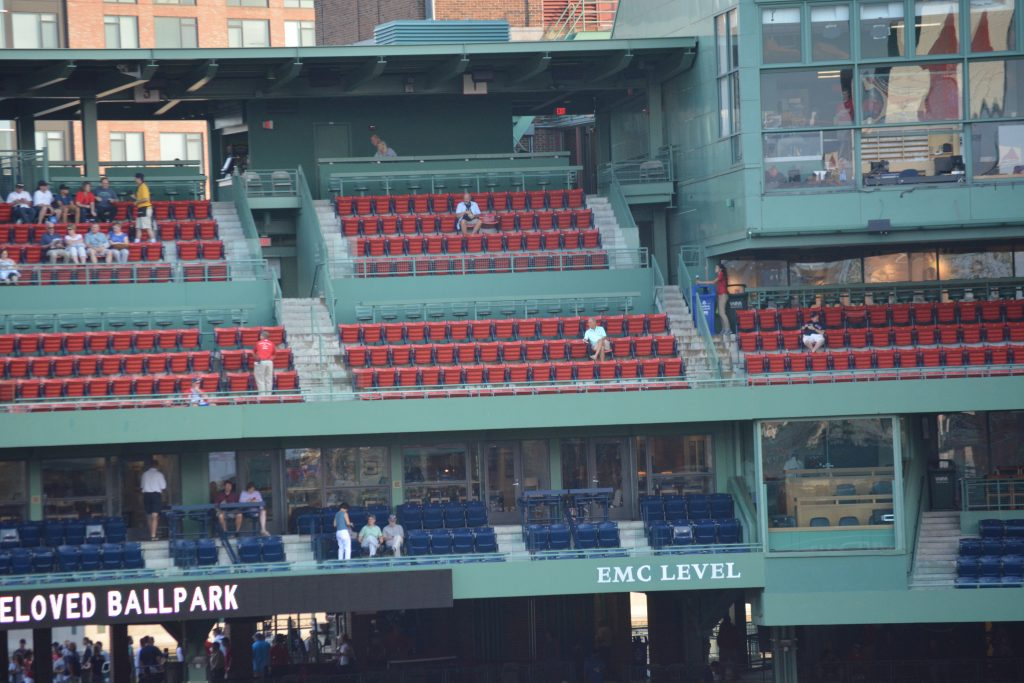 EMC Club offers one of the best views at Fenway Park