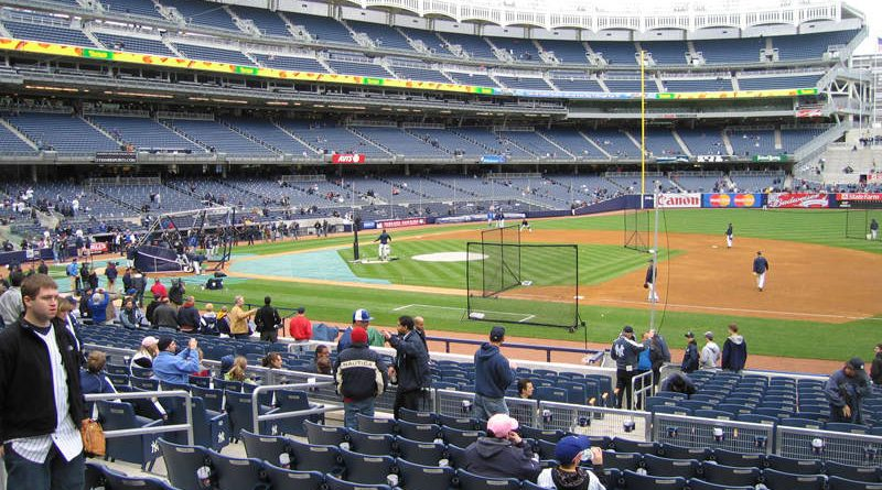 One of the Best Views at Yankee Stadium - Section 114B