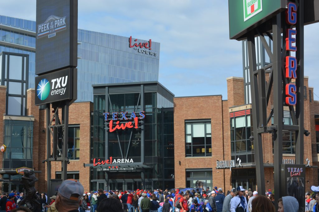 Live! by Loews is the closest hotel to the Texas Rangers new stadium, and recommended by Globe Life Field Guide