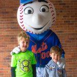 Kids can meet Mr Met