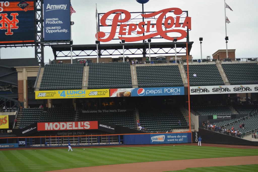 Affordable Mets tickets in Right Field.