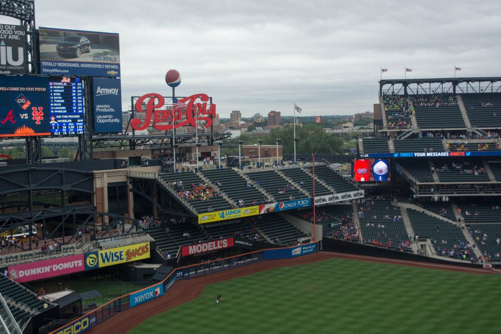 Best Seats at Citi Field for catching baseballs