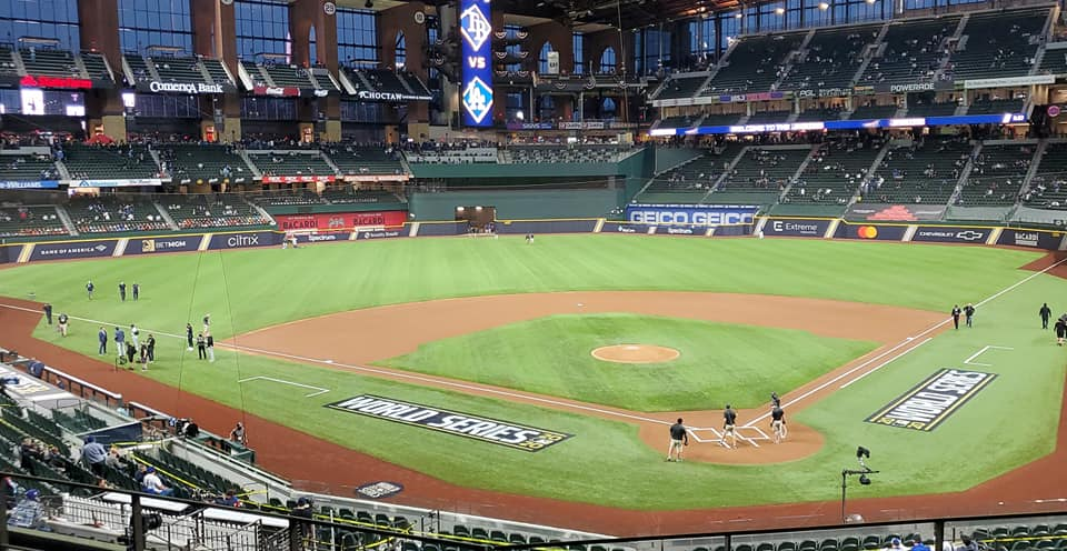 Great Seats for Texas Rangers in Infield Mezzanine section 113