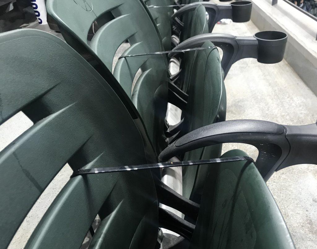 Seating Capacity for the 2021 MLB Baseball season will be limited.