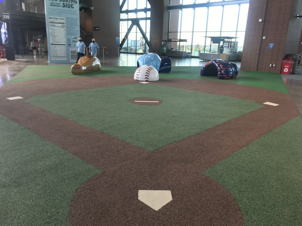 Childrens Play area at Globe Life Field