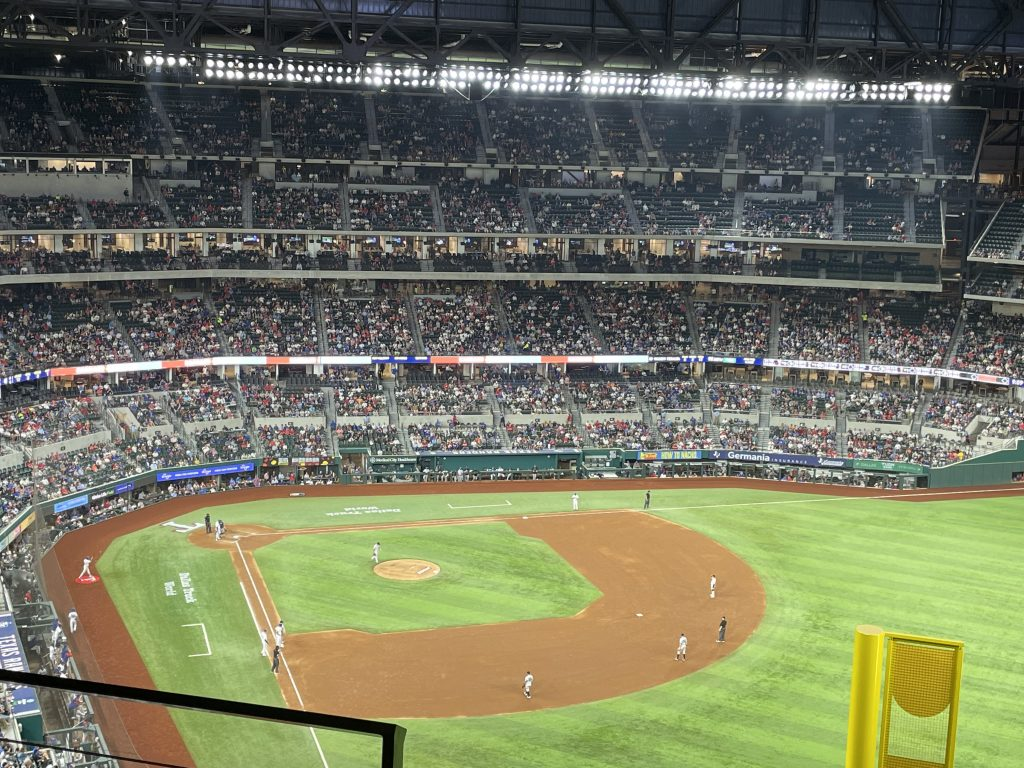 Rangers section 325 Seat View